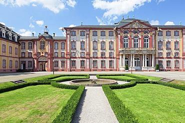 Schloss Bruchsal castle, Bruchsal, Baden-Wuerttemberg, Germany, Europe