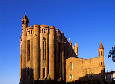 Cathedrale Sainte-Cecile d'Albi Cathedral, Albi, Tarn, Midi-Pyrenees, France, Europe