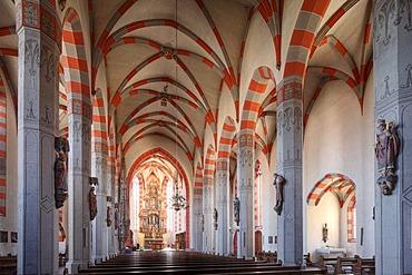 Church of St. Andrew, Ochsenfurt, Mainfranken, Lower Franconia, Franconia, Bavaria, Germany, Europe