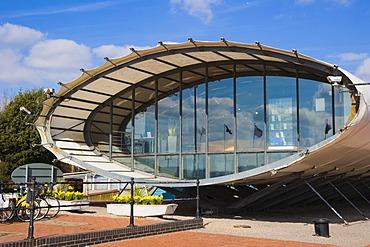 Cardiff Bay Visitor Centre, The Tube, Cardiff, Caerdydd, South Glamorgan, Wales, United Kingdom, Europe