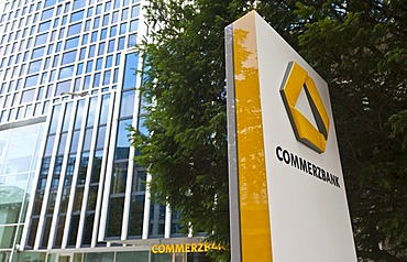 Branch of the Commerzbank, Westend, Frankfurt am Main, Hesse, Germany, Europe
