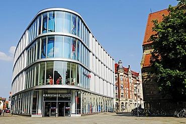 Karstadt department store, Am Anger, Erfurt, Thuringia, Germany, Europe