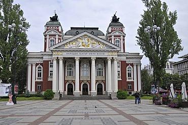 National Theater Ivan Vazov, Sofia, Bulgaria, Europe