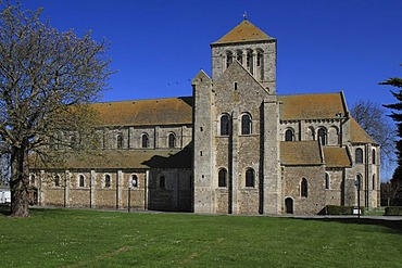 Lessay Abbey, Manche department, Basse-Normandie region, Normandy, France, Europe