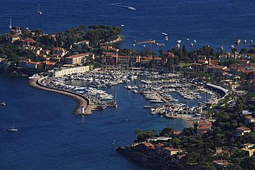 St. Jean Cap Ferrat with marina, Departement Alpes Maritimes, Region Provence Alpes Cote d'Azur, France, Europe