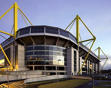 Westfalenstadion stadium, Signal-Iduna-Park, Borussia Dortmund, Dortmund, Ruhrgebiet region, North Rhine-Westphalia, Germany, Europe