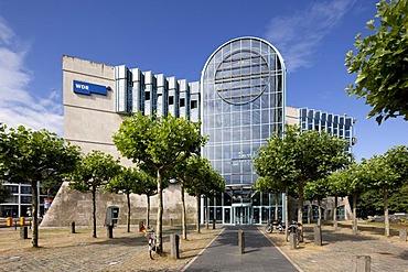 WDR television studio, Westdeutscher Rundfunk tv and radio station, Duesseldorf, North Rhine-Westphalia, Germany, Europe