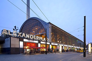Alexanderplatz station, Berlin-Mitte, Berlin, Germany, Europe