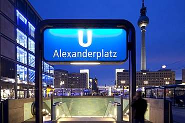 Alexanderplatz Square, Berlin-Mitte, Berlin, Germany, Europe