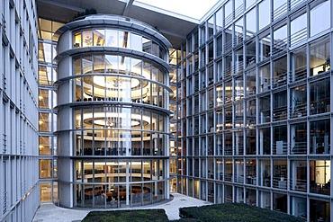 Paul Loebe Building, Bundestag administration and members' offices, Berlin-Mitte, Berlin, Germany Europe