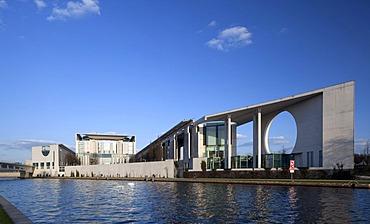 Federal Chancellery, Berlin-Mitte, Berlin, Germany, Europe
