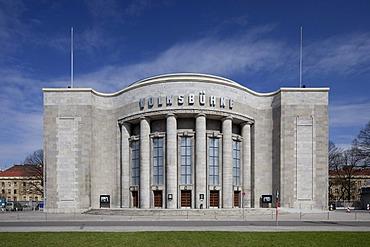 Volksbuehne Theatre on Rosa Luxemburg Square, Berlin-Mitte, Berlin, Germany, Europe