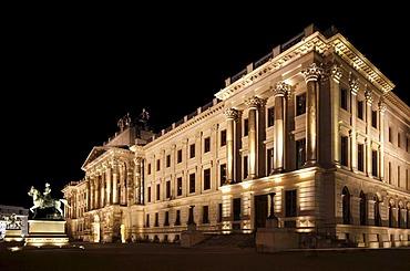 Reconstruction of Brunswick Palace, Schloss-Arkaden shopping centre, city library, city archive, castle museum, Braunschweig, Brunswick, Lower Saxony, Germany, Europe