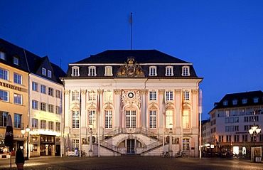 Old Town Hall, Bonn, Rhineland, North Rhine-Westphalia, Germany, Europe
