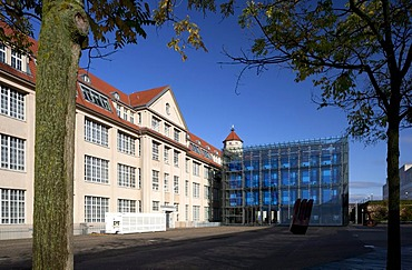 Zentrum fuer Kunst und Medientechnologie, ZKM, Centre for Art and Media, Karlsruhe, Baden-Wuerttemberg, Germany, Europe