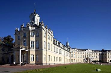 Schloss Karlsruhe castle, Karlsruhe, Baden-Wuerttemberg, Germany, Europe