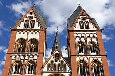 Limburg Cathedral, Cathedral of Limburg an der Lahn, Hesse, Germany, Europe
