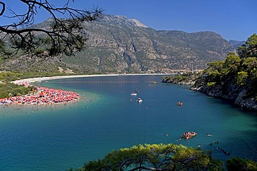 Oeluedeniz Bay near Fethiye, west coast of Turkey, Asia