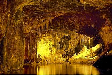 Saalfelder Feengrotten or Saalfeld Fairy Grottoes, Saalfeld, Thuringia, Germany, Europe