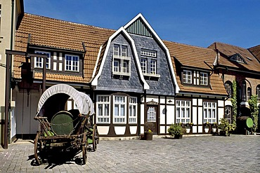 Brewery, Nordhaeuser Doppelkorn schnapps, Nordhausen, Thuringia, Germany, Europe