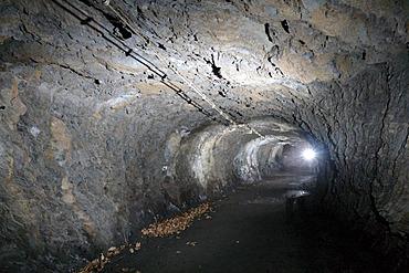 Bunker underneath the Koblenz Ehrenbreitstein fortress, Koblenz, Rhineland-Palatinate, Germany, Europe
