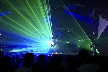 Nature One 2010 electronic music festival, Kastellaun, Rhineland-Palatinate, Germany, Europe