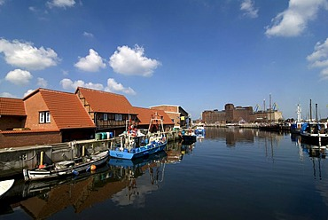 Old Port, Wismar, Mecklenburg-Western Pomerania, Germany, Europe