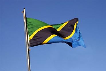 Tanzanian flag, Tanzania, Africa