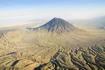 The active volcano Ol Doinyo Lengai in the East African Great Rift Valley, 2960m, Tanzania, Africa