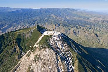 Peak of the active volcano Ol Doinyo Lengai, 2960m, Tanzania, Africa