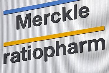 "Pharmaceutical company ""Ratiopharm"", Ulm, Baden-Wuerttemberg, Germany, Europe"