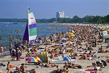 Timmendorf Beach, Luebeck Bay, Schleswig-Holstein, Baltic Sea, Germany