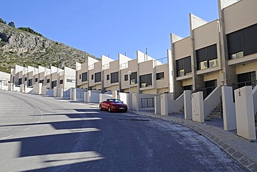 Houses, new constructions, settlement, Altea, Costa Blanca, Alicante province, Spain, Europe