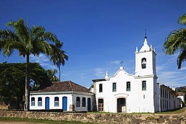 Capela de Nossa Senhora das Dores, Chapel of Our Lady of Sorrows, Paraty, Costa Verde, State of Rio de Janeiro, Brazil, South America