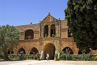 Arkadi Monastery, Moni Arkadi, National Monument, Crete, Greece, Europe