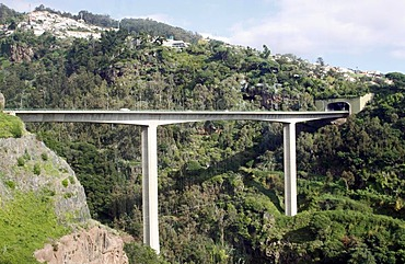 Highway, Funchal, Madeira, Portugal, Europe