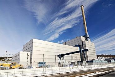 Nuclear power plant Kruemmel in Geesthacht, Schleswig-Holstein, Germany, Europe