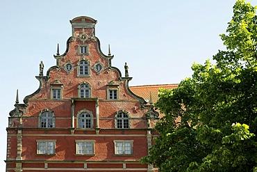 Schabbellhaus building in Wismar, Mecklenburg-Western Pomerania, Germany, Europe