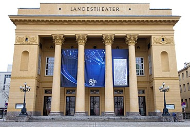 State theater, Landestheater, provincial capital Innsbruck, Tyrol, Austria, Europe