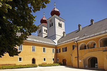 Millstatt abbey, Carinthia, Austria, Europe