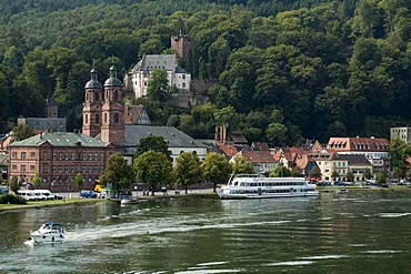 Miltenberg on the Main river, Lower Franconia, Bavaria, Germany, Europe