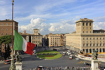 Piazza Venezia square, Rome, Italy, Europe