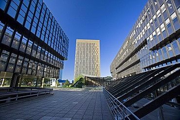 European Court of Justice, European Commission, Kirchberg quarter, Europe District, Luxembourg, Europe