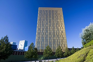 Office towers, European Court of Justice, Kirchberg quarter, Europe District, Luxembourg, Europe