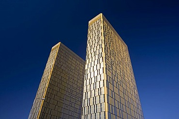 Office towers, European Court of Justice, Kirchberg-plateau, Europe District, Luxembourg, Europe