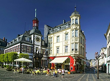 The old town hall in Mayen, Rhineland-Palatinate, Germany, Europe