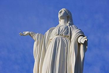 Madonna, Cero St. Cristobald, Santiago de Chile, Chile, South America
