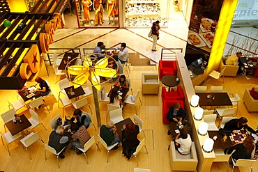 Cafe, shopping center, Santiago de Chile, Chile, South America