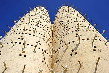 Pigeon towers, Cultural Village, Doha, Qatar, Persian Gulf, Middle East, Asia