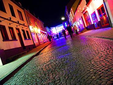 John, brothel street, Bochum, Ruhrgebiet region, North Rhine-Westphalia, Germany, Europe